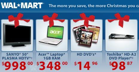 WalmartHDDVDSpecials