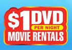 1 dollar dvd rentals