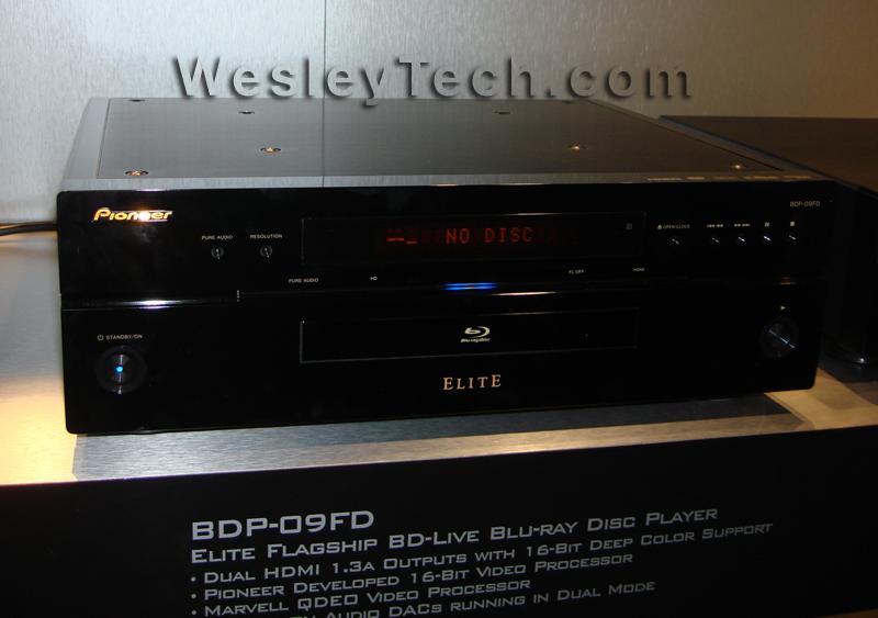 Pioneer Elite BDP-09FD - CEDIA 3