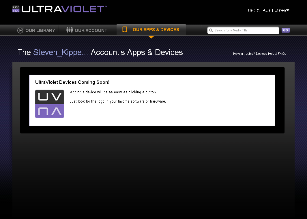 how to delete movies from ultraviolet account