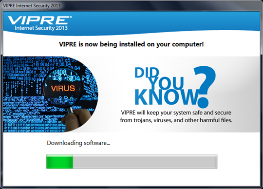 VIPRE Internet Security Install