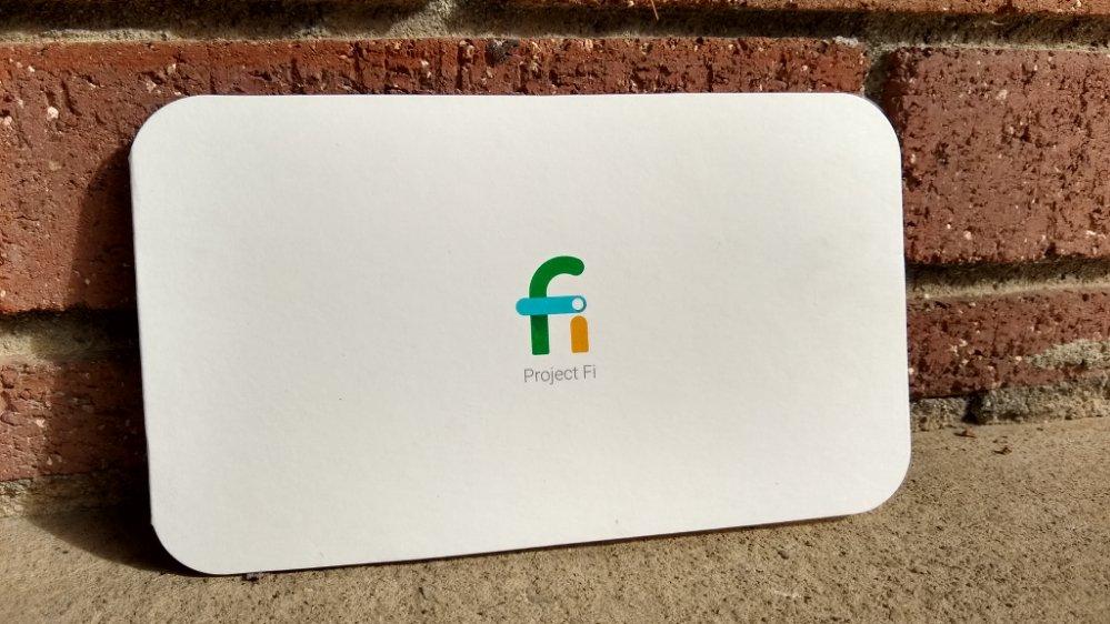 Project Fi card